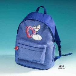 Diddl Rucksack Jeans all over