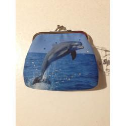 Clipgeldbörse Delfin