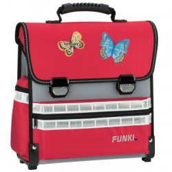 Funki Schulsack Schmetterling