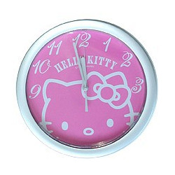 Hello Kitty Wanduhr