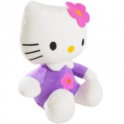 Hello Kitty Plüsch mit lila...